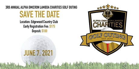 3RD ANNUAL ALPHA OMICRON LAMBDA CHARITIES GOLF OUTING tickets