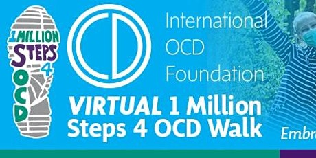 Virtual 1 Million Steps 4 OCD Walk tickets