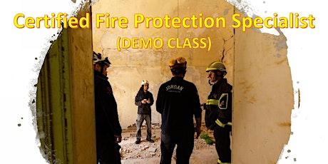 Free Certified Fire Protection Specialist Webinar (DEMO CLASS) tickets