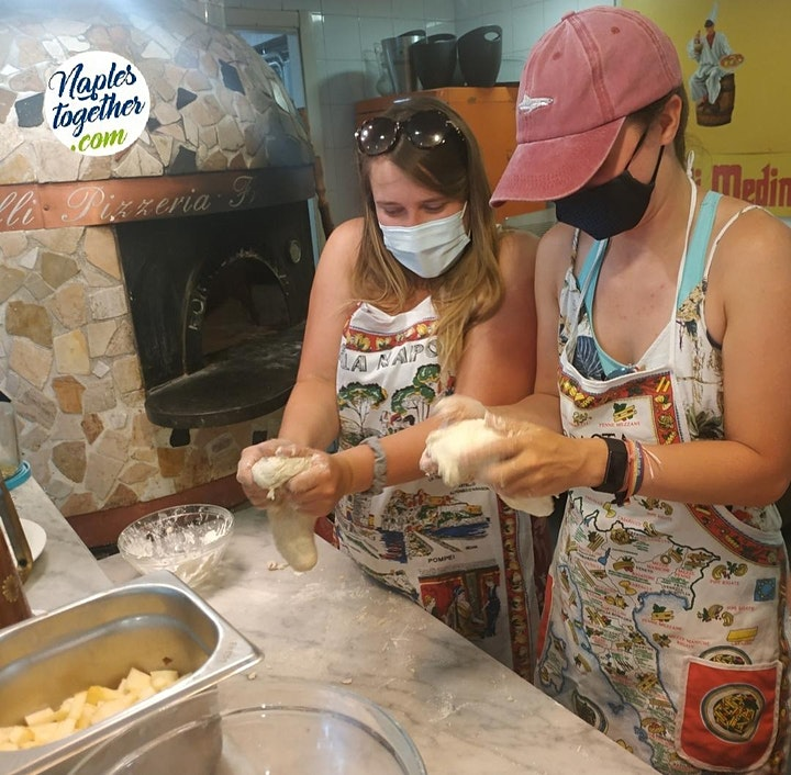 Pizza & Dough Making Experience in Naples! image