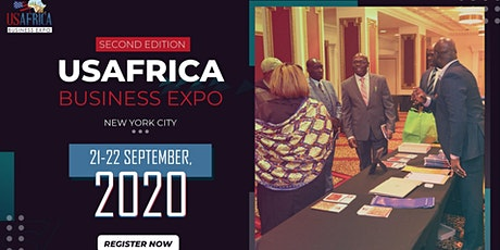 USAfrica Business Expo  during the 75th U.N General Assembly (Virtual) tickets