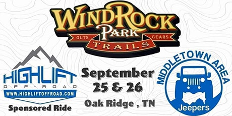 Middletown Area Jeepers- Windrock Ride Presented by Highlift Offroad tickets