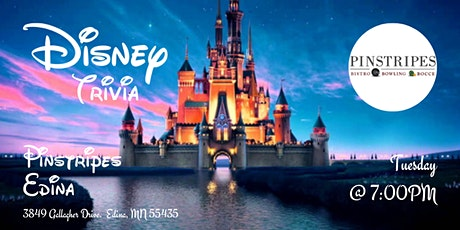 Disney Movies Trivia at Pinstripes Edina tickets