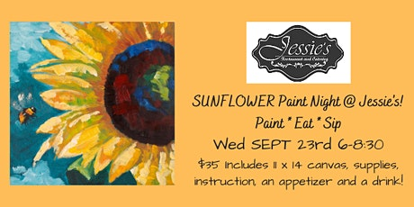 Sunflower Paint Night #2 @ Jessie's Restaurant & Cater tickets