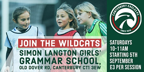 Canterbury Wildcats - Girls Football tickets