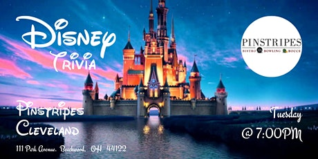 Disney Movies Trivia at Pinstripes Cleveland tickets