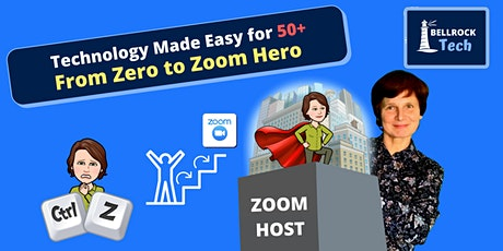 Advanced Zoom for Professionals,  Freelancers, Start-ups - Zoom HOST-ing tickets