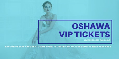 Oshawa Pop Up Wedding Dress Sale VIP Early Access tickets