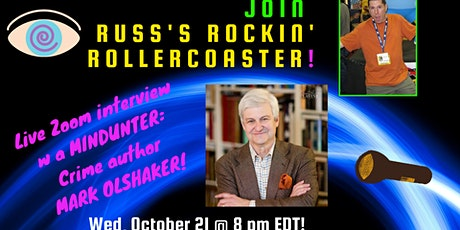 Russ Colchamiro interviews acclaimed MINDHUNTER author Mark Olshaker tickets