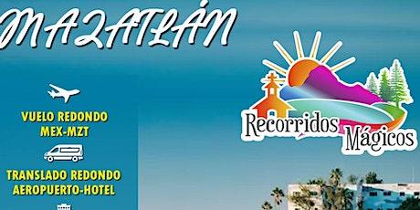 Viaje a Mazatlán entradas