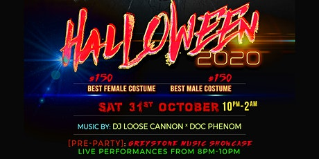 Greystone Music Group: HALLOWEEN 2020: Thriller Night tickets
