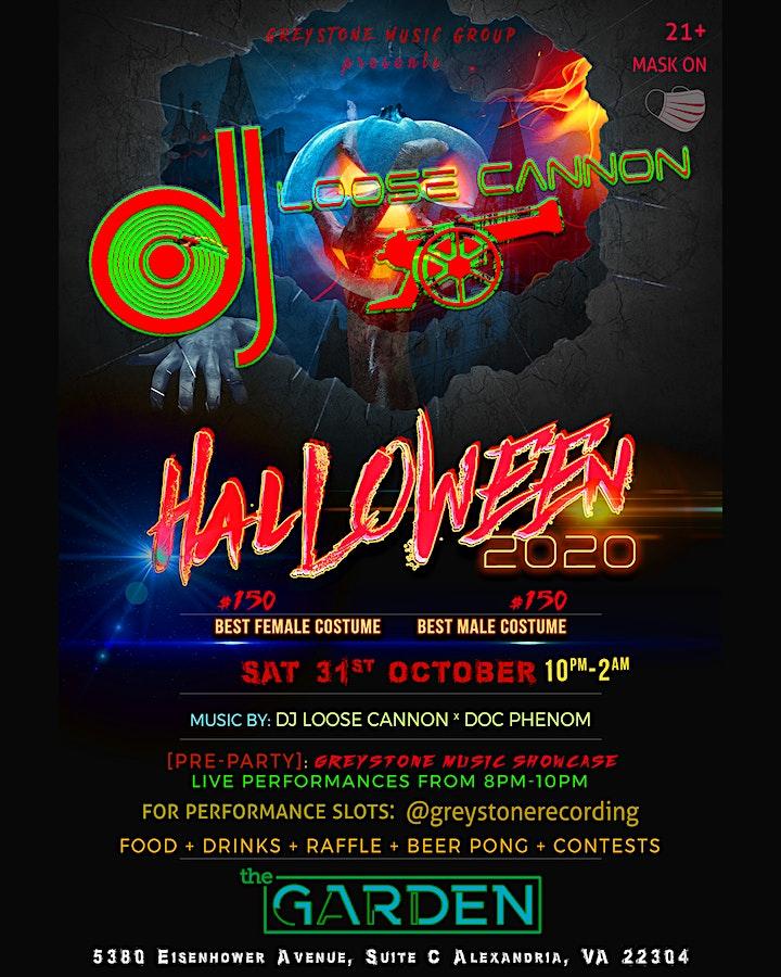 Halloween Restaurant Events Alexandria Va 2020 Greystone Music Group: HALLOWEEN 2020: Thriller Night Tickets, Sat