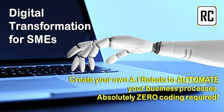 Digital Transformation for SMEs - AUTOMATE your Business Processes SIMPLY tickets