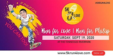 5KRun4Love, Run for Philip tickets