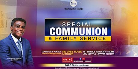 Morning Family Worship Service At TBC~Croydon tickets