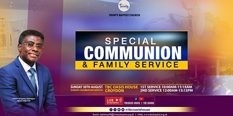 Afternoon Family Worship Service At TBC~Croydon tickets