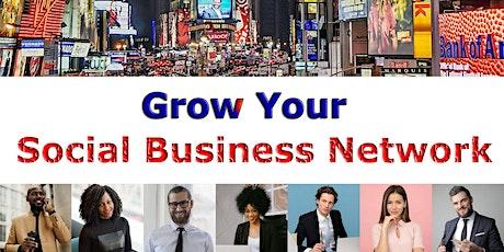 Multicultural Social Business Connection billets