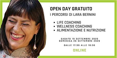 Open Day Gratuito Online - Life & Wellness Coach e Nutrizione di L.Bernini biglietti