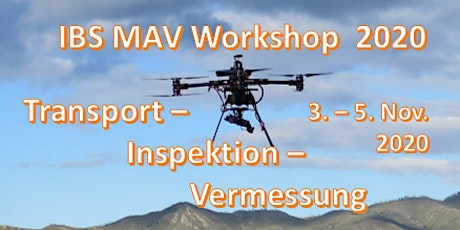 IBS Micro Air Vehicle Workshop 2020 Tickets