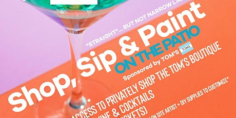Shop, Sip & Paint On The Patio tickets