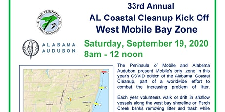Annual West Bay Cleanup / AL Coastal Cleanup tickets