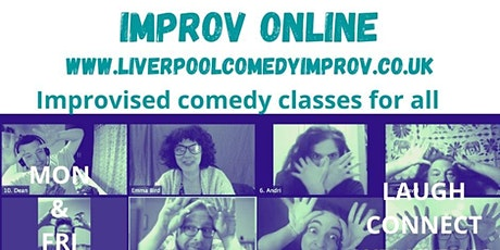 IMPROV ONLINE All Levels Drop-in tickets