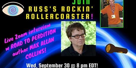 Russ Colchamiro interviews ROAD TO PERDITION crime author Max Allan Collins tickets
