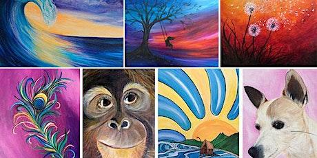 Pick Your Subject Acrylic and Mixed Media Art with Jen Livia tickets