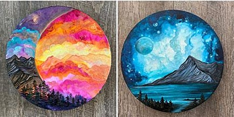 Liquid Acrylics, Galaxy Sky and Landscapes galaxy tickets