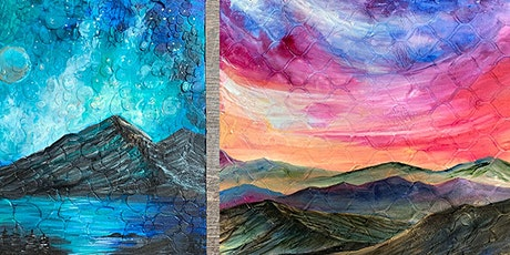 Mixed Media Textured Painting - Landscapes and Abstracts tickets