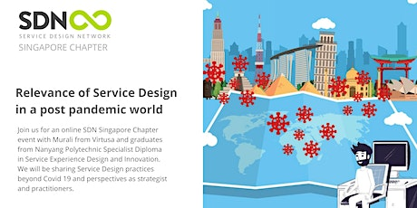 Relevance of Service Design in a post pandemic world tickets
