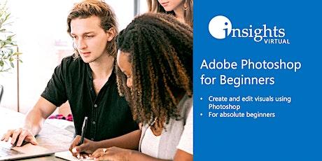WEBINAR Adobe Photoshop for Beginners tickets