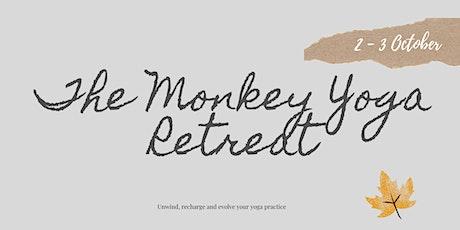 Monkey Yoga Autumn Retreat tickets
