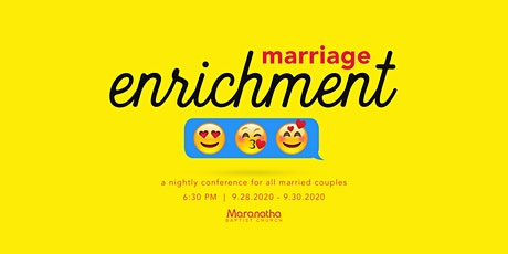 Marriage Enrichment Conference tickets