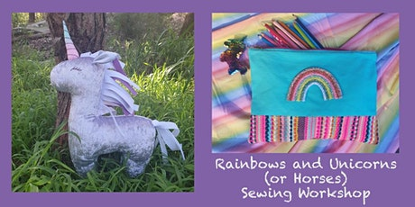 Rainbows and Unicorns (or Horses) Sewing Workshop tickets