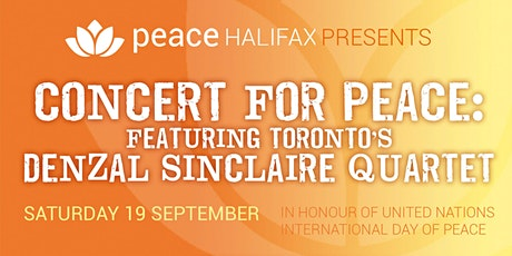 Peace Halifax: Concert for Peace tickets