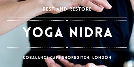 Wednesday Evening Relaxation and Yoga Nidra with Kelly at CoBalance Cafe  Tickets, Wed 7 Oct 2020 at 19:00 | Eventbrite