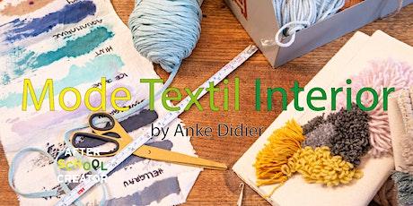 Mode - Textil- Interior bei den after school creator Tickets