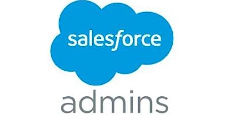 4 Weekends  Salesforce CRM Administration Training in Brussels billets