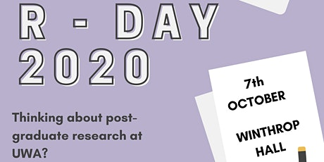 UWA PSA Research Week - R-Day tickets