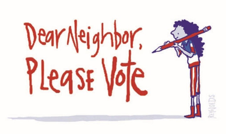 STAND CNJ Voter Mobilization Postcard Writing 2021 image