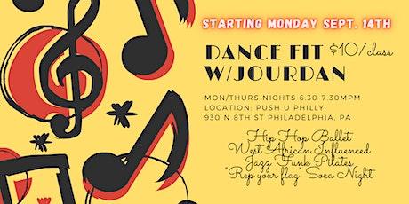 Dance Fit With Jourdan tickets