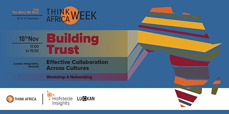 Building trust and effective collaboration across cultures tickets