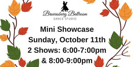 Brownsburg Ballroom Dance Studio Fall Mini Showcase 6:00 Show tickets