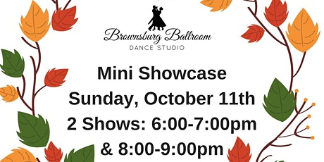 Brownsburg Ballroom Dance Studio Fall Mini Showcase 8:00 Show tickets
