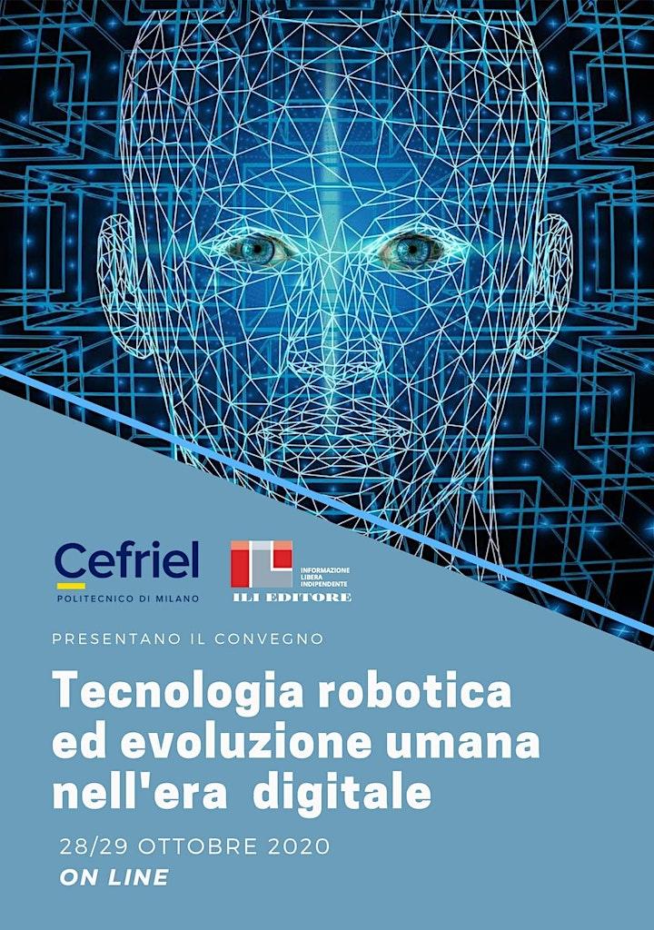 Immagine Tecnologia robotica ed evoluzione umana nell'eradigitale