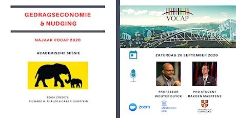 VOCAP Reeks Gedragseconomie & Nudging | Deel 1: Academische Sessie tickets