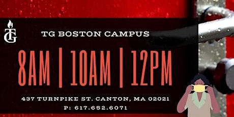 TG BOSTON SUNDAY SERVICES tickets
