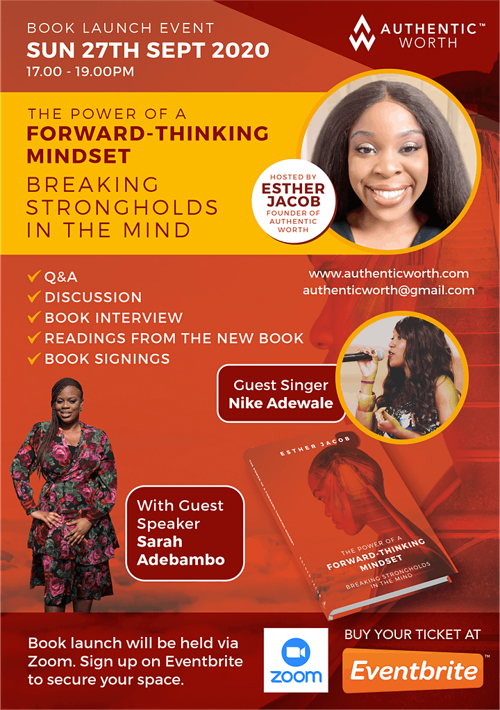 The Power Of A Forward-Thinking Mindset Book Launch image