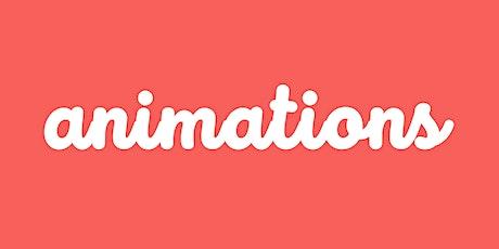Participer à une animation billets
